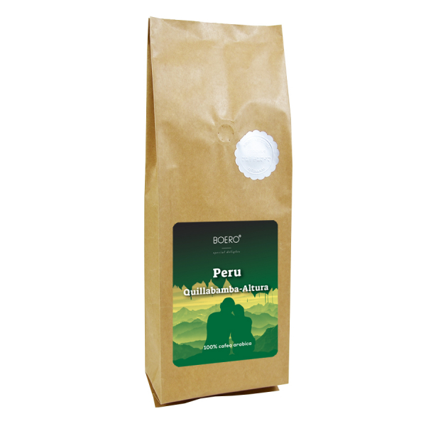 Peru Altura, cafea macinata proaspat prajita Boero, 1 kg