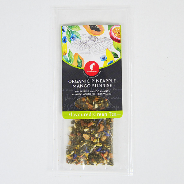 Pineapple Mango Sunrise, ceai organic Julius Meinl, Big Bags 4