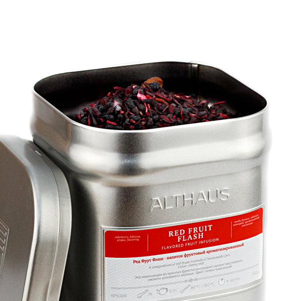 Red Fruit Flash, ceai Althaus Loose Tea, 250 grame 0