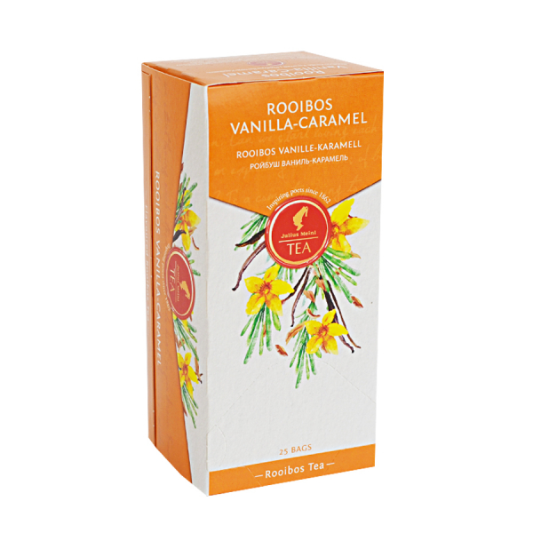 Rooibos Vanilla-Caramel, ceai Julius Meinl - 25 plicuri 1