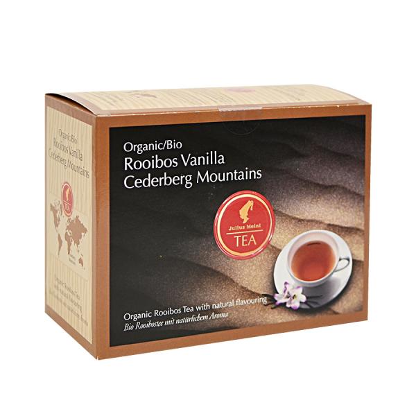 Rooibos Vanilla Cederberg Mountains, ceai organic Julius Meinl, Big Bags 0