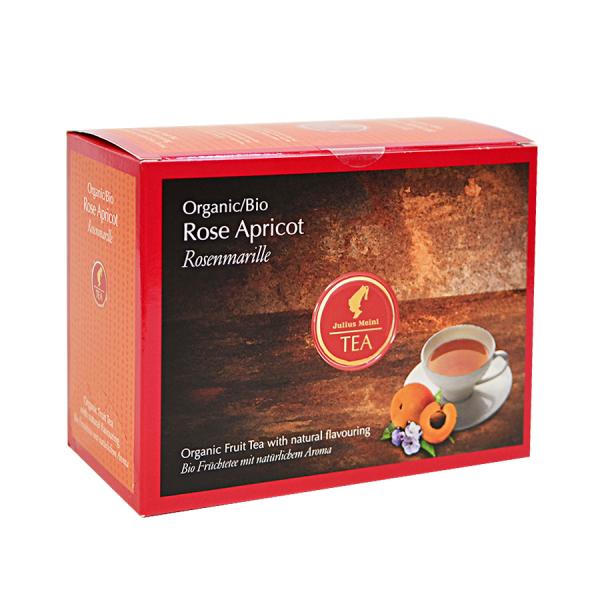 Rose Apricot, ceai organic Julius Meinl, Big Bags 0