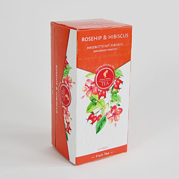 Rosehip & Hibiscus, ceai Julius Meinl - 25 plicuri 1