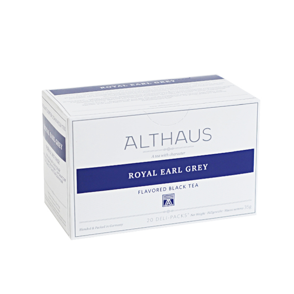 Royal Earl Grey, ceai Althaus Deli Packs 1