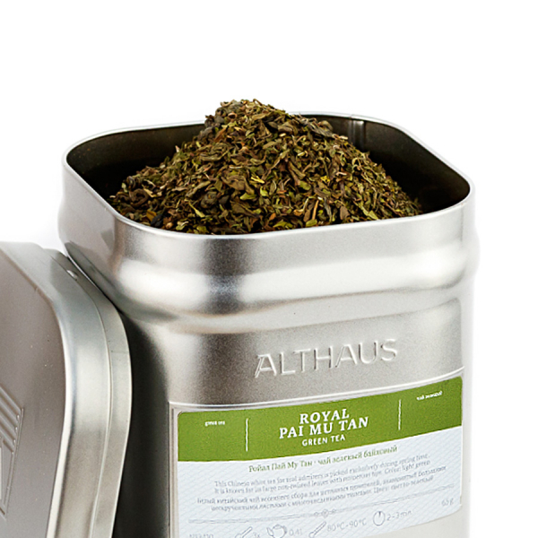 Royal Pai Mu Tan, ceai Althaus Loose Tea, 65 grame 0