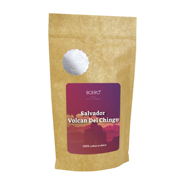 Salvador Volcan del Chingo, cafea macinata proaspat prajita Boero, 250 grame 0