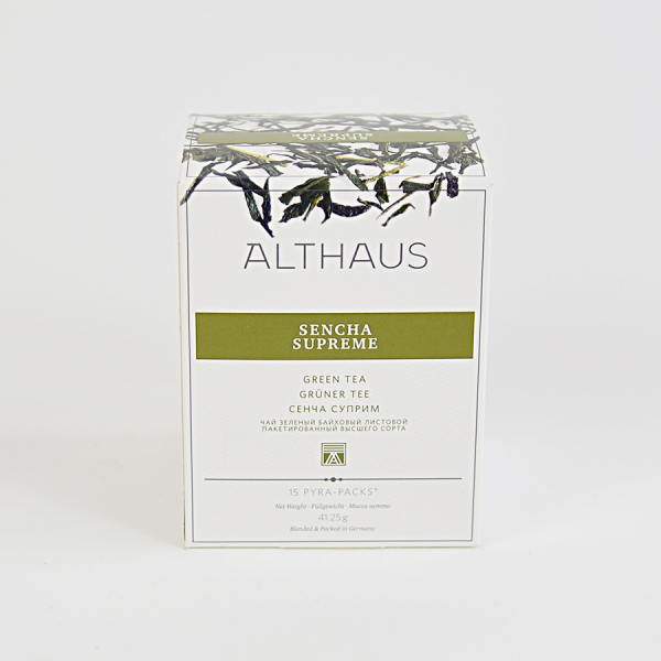 Sencha Supreme, ceai Althaus Pyra Packs 1