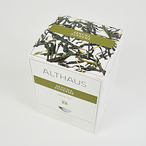 Sencha Supreme, ceai Althaus Pyra Packs 2