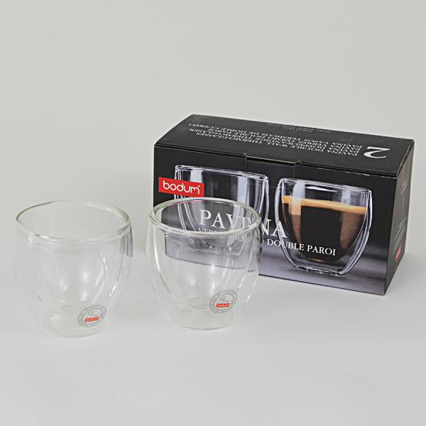 Set 2 pahare espresso cu pereti dubli, Bodum 4