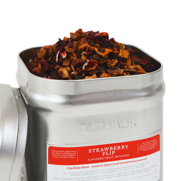 Strawberry Flip, ceai Althaus Loose Tea, 250 grame