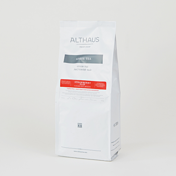 Strawberry Flip, ceai Althaus Loose Tea, 250 grame 2