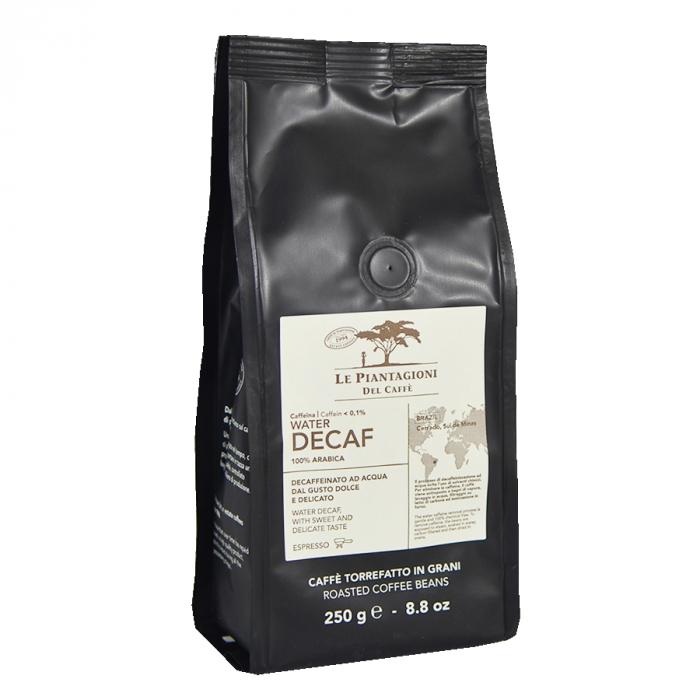 Water Decaf, cafea boabe Le piantagioni del caffe, 250gr 0