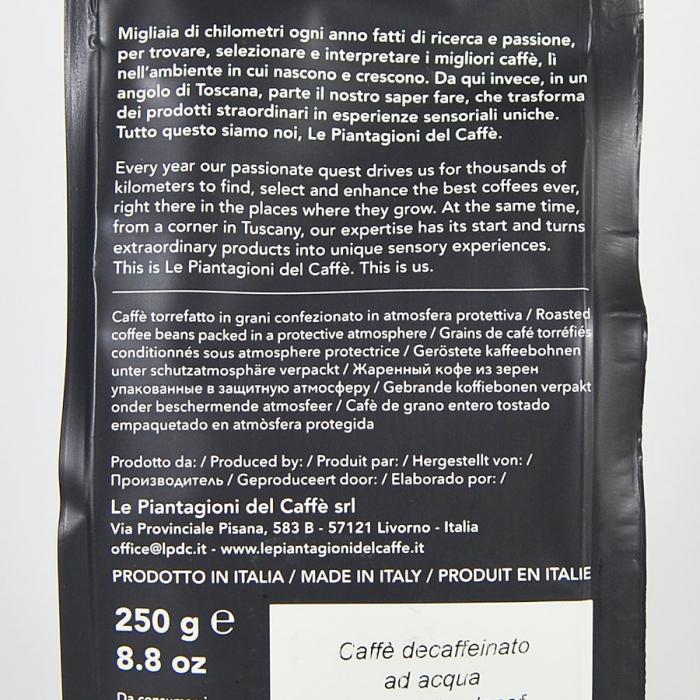 Water Decaf, cafea boabe Le piantagioni del caffe, 250gr 2