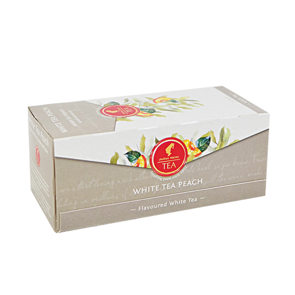 White Tea Peach, ceai Julius Meinl - 25 plicuri 0