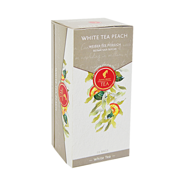 White Tea Peach, ceai Julius Meinl - 25 plicuri 1