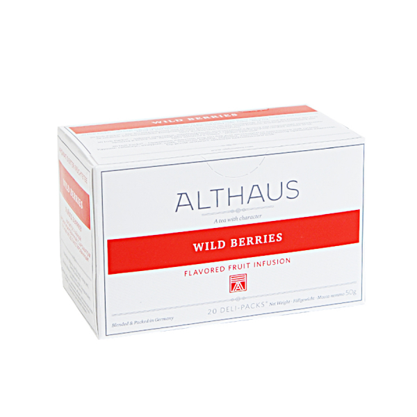 Wild Berries, ceai Althaus Deli Packs