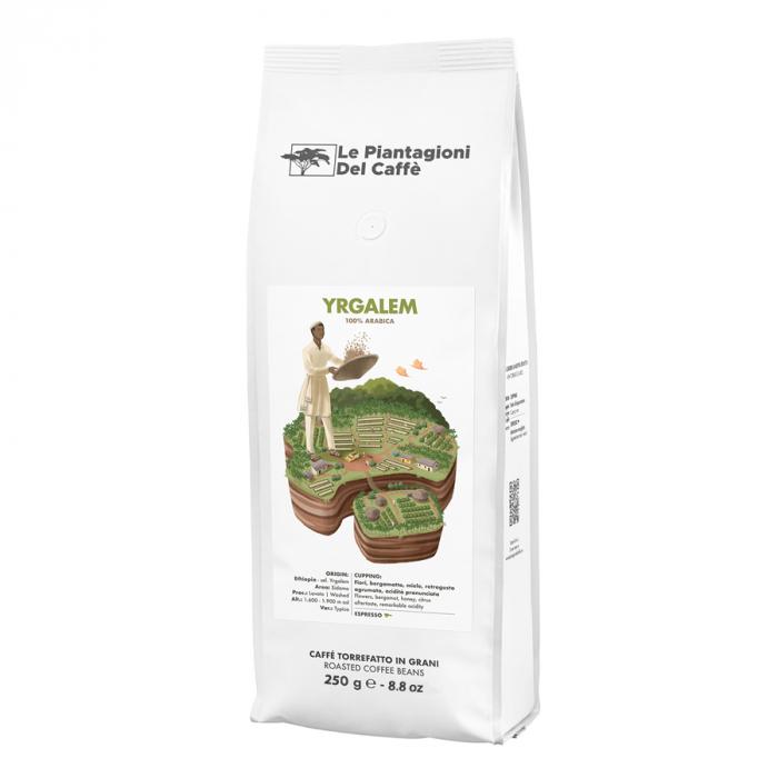 Yrgalem, cafea boabe Le piantagioni del caffe, 250g 0