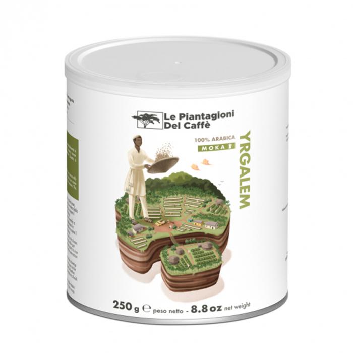 Yrgalem, cafea macinata Le piantagioni del caffe, 250gr 0