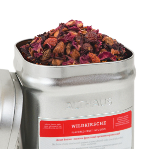 Wild Cherry, ceai Althaus Loose Tea, 250 gr0