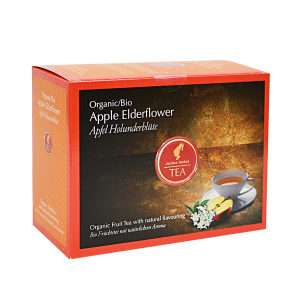 Apple Elderflower, ceai organic Julius Meinl, Big Bags0