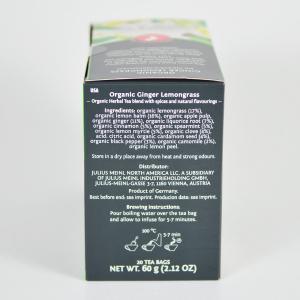 Ginger Lemongrass, ceai organic Julius Meinl, Big Bags1