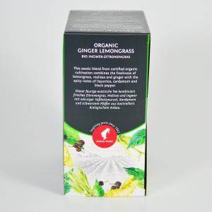 Ginger Lemongrass, ceai organic Julius Meinl, Big Bags3