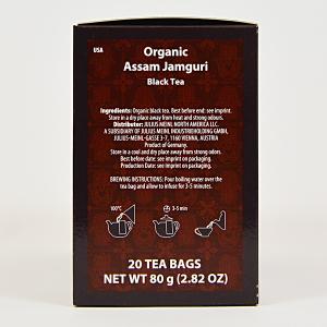 Assam Jamguri, ceai organic Julius Meinl, Big Bags1