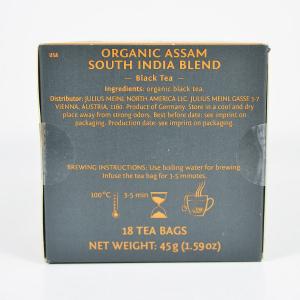 Assam South India Blend, ceai organic Julius Meinl, Leaf Bags4