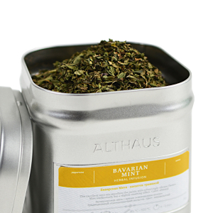Bavarian Mint, ceai Althaus Loose Tea, 75 grame0