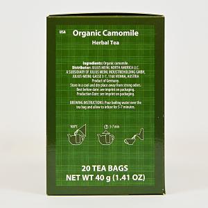 Camomile, ceai organic Julius Meinl, Big Bags1
