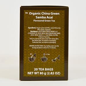 China Green Samba Acai, ceai organic Julius Meinl, Big Bags1