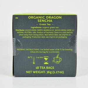 Dragon Sencha, ceai organic Julius Meinl, Leaf Bags3