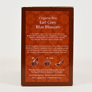 Earl Grey Blue Blossom, ceai organic Julius Meinl, Big Bags1