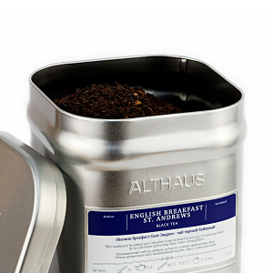 English Breakfast St. Andrews, ceai Althaus Loose Tea, 250 grame0