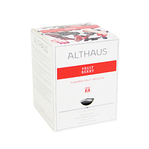 Fruit Berry, ceai Althaus Pyra Packs