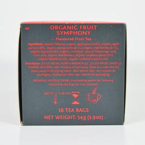 Fruit Symphony, ceai organic Julius Meinl, Leaf Bags3