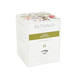 Grun Matinee, ceai Althaus Pyra Packs0