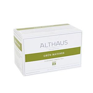 Grun Matinee, ceai Althaus Deli Packs1