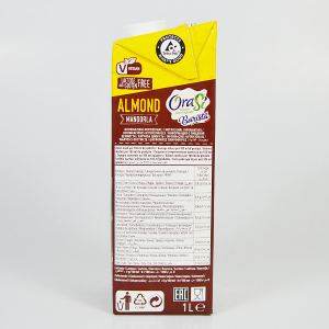 Lapte vegetal pentru cafea - Migdale, Orasi 1L3