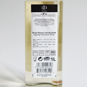 Lichior de oua, Sirop 1883 Maison Routin, 1L2