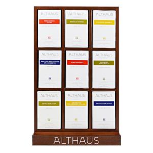 Pachet Display Althaus si 9 cutii ceai Althaus Deli Packs0
