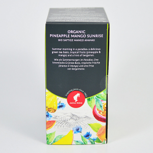 Pineapple Mango Sunrise, ceai organic Julius Meinl, Big Bags2