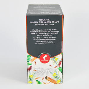 Vanilla Cinnamon Dream, ceai organic Julius Meinl, Big Bags1