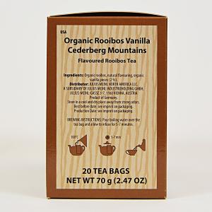 Rooibos Vanilla Cederberg Mountains, ceai organic Julius Meinl, Big Bags1