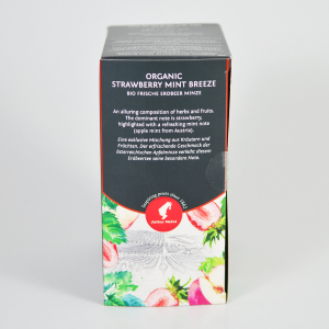 Strawberry Mint Breeze, ceai organic Julius Meinl, Big Bags3