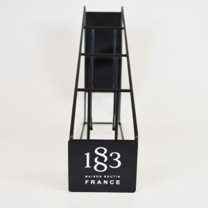 Suport metalic pentru Sirop 1883 Maison Routin, 4 sticle [2]