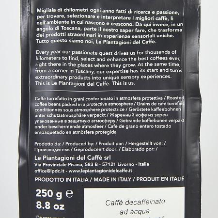 Water Decaf, cafea boabe Le piantagioni del caffe, 250gr2