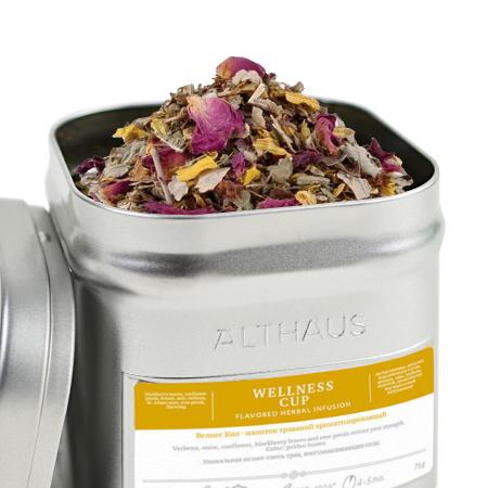 Wellness Cup, ceai Althaus Loose Tea, 75 grame [0]