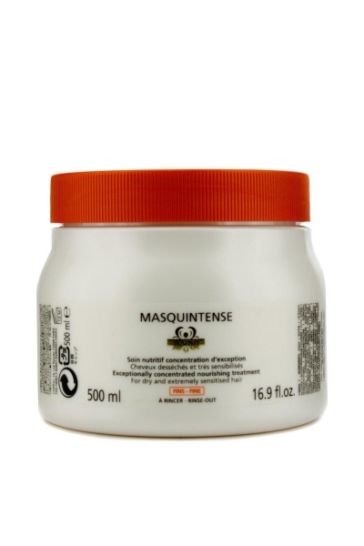 Masca pentru par cu fir fin/normal Kerastase Nutritive Irisome Masquintense Cheveux Fins, 500 ml 0