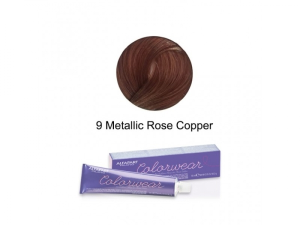 Vopsea fara amoniac Alfaparf COLOR WEAR ROSE COPPER 9 ,60 ml 0
